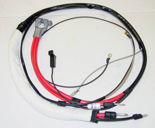 1966 B-body HEMI Positive Battery Cable-Automatic Transmission - Image 1