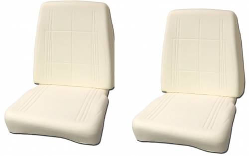Dante's Mopar Parts - 1968-69 Bucket Seat Foam Set A & B -Body Dart Barracuda GTX Charger Road Runner