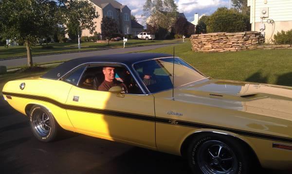 Dante's very own 1970 Dodge Challenger R/T SE