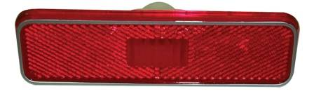 Dante's Mopar Parts - Mopar Rear (Red) Side Marker Lens- 1972-1974 E-body, 1972-1978 B-body, 1976-1978 F-body, 1972-1976 A-body - Image 1