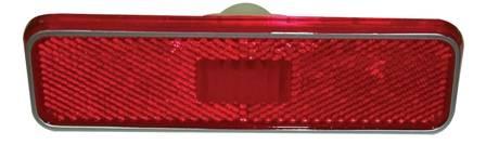 Dante's Mopar Parts - Mopar Rear (Red) Side Marker Lens- 1972-1974 E-body, 1972-1978 B-body, 1976-1978 F-body, 1972-1976 A-body