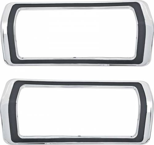 Dante's Mopar Parts - Mopar Tail Light Bezels 1973-1976 Plymouth Duster - Image 1