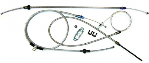 Dante's Mopar Parts - Mopar 1970-74 E-Body Parking Brake Cable Kit without Intermediate Cable - Image 1