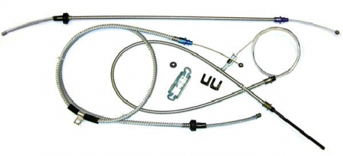 Dante's Mopar Parts - Mopar 1966-1970 B-Body Satellite Coronet Charger Parking Brake Cable Kit - Image 1
