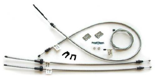Dante's Mopar Parts - Mopar 1963-66 A-Body Parking Brake Cable Kit - Image 1