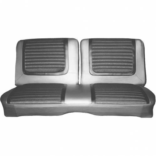 Dante's Mopar Parts - Mopar Seat Cover 1965 Plymouth Belvedere II Front Split Bench 2 Door Hardtop - Image 1