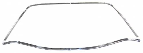 AMD-Auto Metal Direct - Mopar Back Glass Molding Set 1968-1970 B-body GTX Road Runner Coronet (except Charger)