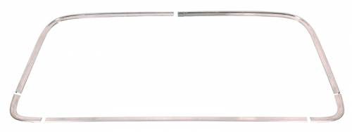 AMD-Auto Metal Direct - Mopar Back Glass Molding Set 1968-1970 Dodge Charger