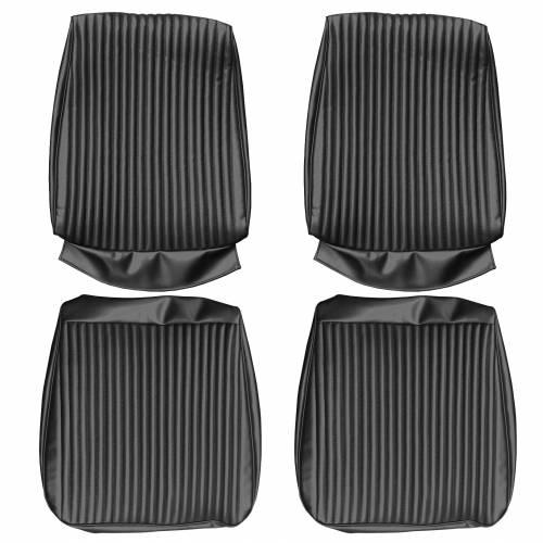 Dante's Mopar Parts - Mopar Seat Covers 1967 Coronet R/T & Coronet 500 Front Buckets