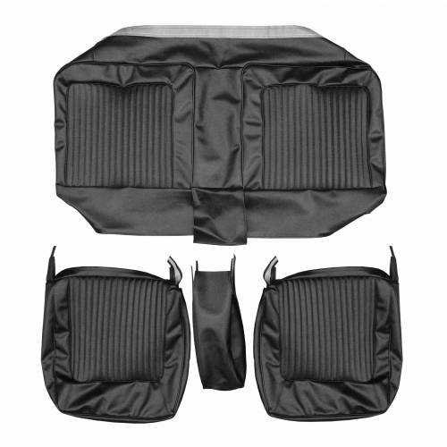 Legendary Auto Interiors - Mopar Seat Covers 1967 Plymouth Barracuda Front Split Bench with Center Armrest - Image 1