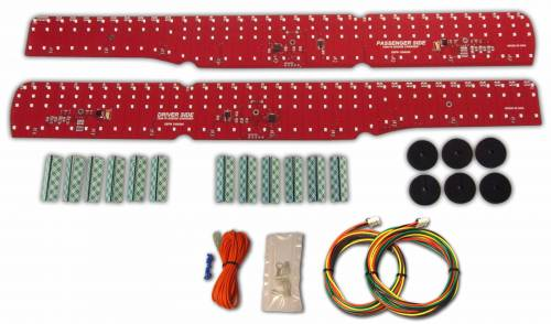 Mopar 1969-1970 Dodge Charger LED Tail Light Kit - Image 1