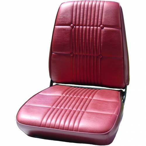 Dante's Mopar Parts - Mopar Seat Covers 1968 Dodge Coronet RT & Coronet 500 OEM Style Front Buckets - Image 1