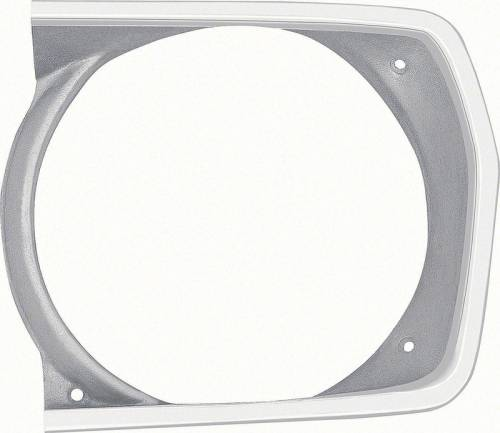 Dante's Mopar Parts - Mopar Headlight Bezels-1971-1972 Plymouth Duster Left Side
