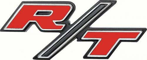 """Dante's Mopar Parts - Mopar Emblems- 1969 Dodge Charger """"R/T"""" Tail Panel - Image 1"""