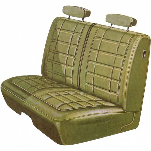 Dante's Mopar Parts - Mopar Seat Covers 1970 Dodge Coronet 440 & Superbee B body Front Split Bench