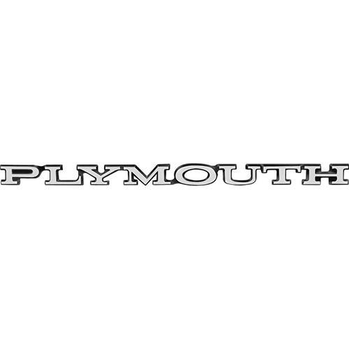 "Dante's Mopar Parts - Mopar Emblems GTX Cuda Road Runner ""Plymouth"" Hood emblem"