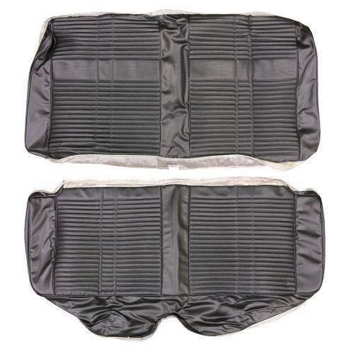 """Dante's Mopar Parts - Mopar Seat Cover 1968 Satellite & Road Runner """"Decor"""" Style Rear Bench - Image 1"""