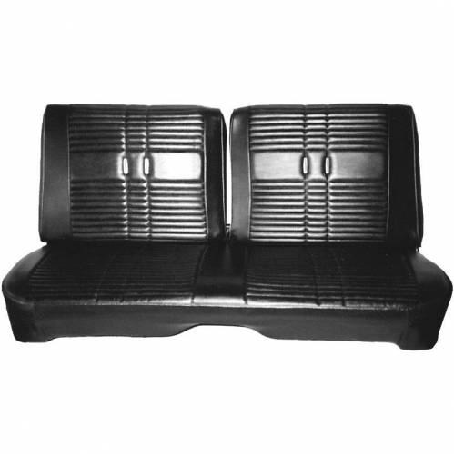 """Dante's Mopar Parts - Mopar Seat Cover 1968 Satellite & Road Runner """"Decor"""" Front Split Bench - Image 1"""
