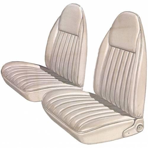 Dante's Mopar Parts - Mopar Seat Covers 1975-76 Plymouth Duster, Dodge Dart Sport Front Buckets - Image 1