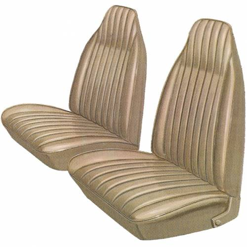 Legendary Auto Interiors - Mopar Seat Covers 1974 Plymouth Duster & Dodge Dart Sport Front Buckets