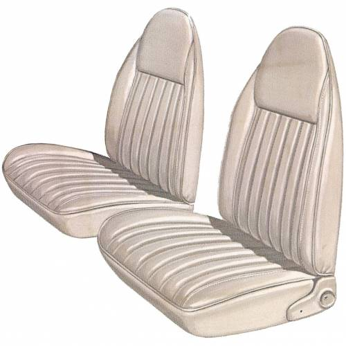 Legendary Auto Interiors - Mopar Seat Covers 1975-76 Plymouth Duster & Dodge Dart Sport Front Buckets - Image 1