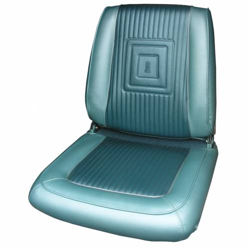 Dante's Mopar Parts - Mopar Seat Covers 1965 Plymouth Satellite Front Buckets - Image 1