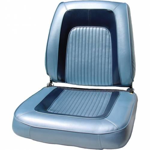 Dante's Mopar Parts - Mopar Seat Covers 1965 Dodge Coronet 500 Front Buckets - Image 1