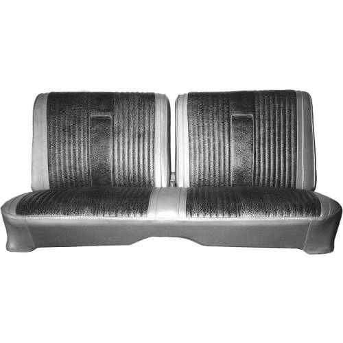 Dante's Mopar Parts - Mopar Seat Cover 1967 Belvedere II, 2-door Hdtp B-body Front Split Bench