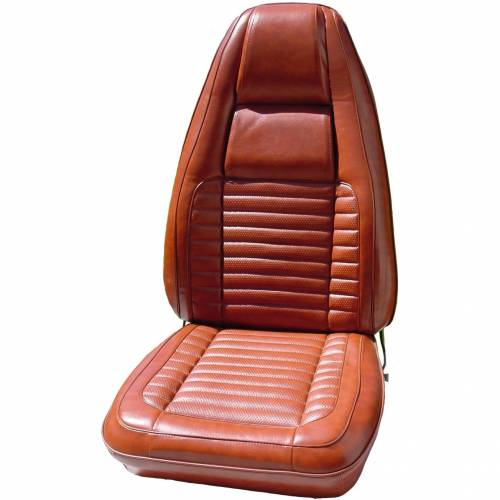 Dante's Mopar Parts - Mopar Seat Cover 1970 Dodge Charger RT, Charger 500 & Charger B body Front Buckets - Image 1