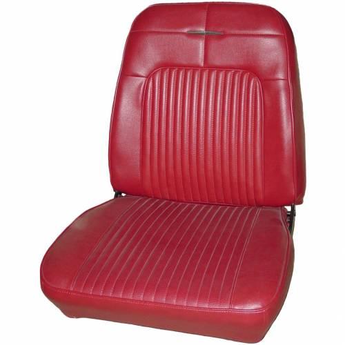 Dante's Mopar Parts - Mopar Seat Covers 1969 Coronet RT, Coronet 500 & Superbee OEM Style B body Front Buckets - Image 1