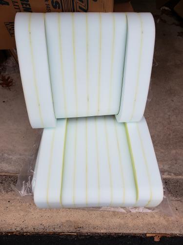 1964-1969 a100 seat foam
