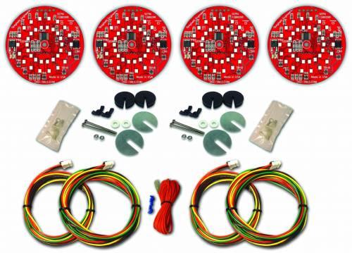 1968 Dodge Charger LED Tail Light Kit