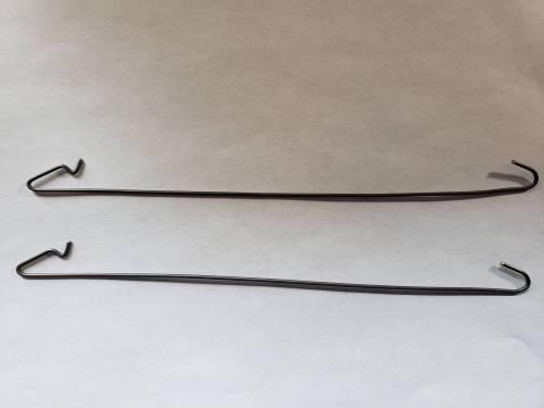 1967-1972 dodge dart headliner bow retainer