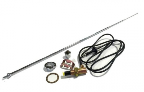 Dante's Mopar Parts - Mopar Antenna Kit-1968-1975 A-body Duster Demon Dart Valiant - Image 1
