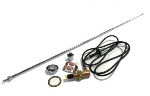 Dante's Mopar Parts - Mopar Antenna Kit-1968-1975 A-body Duster Demon Dart Valiant