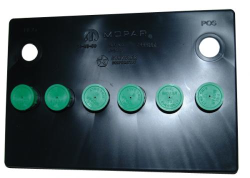 Green Cap Battery Topper