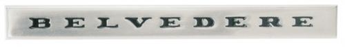 """1967 Plymouth GTX """"Belvedere"""" emblem"""