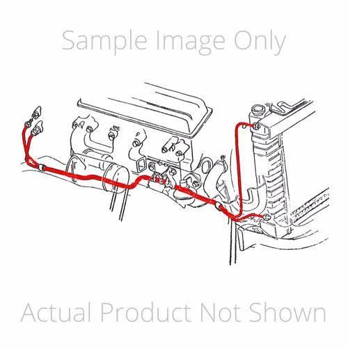 Dante's Mopar Parts - Mopar 1967 Chrysler 300, Newport, New Yorker Transmission Cooler Lines 2pc - Image 1