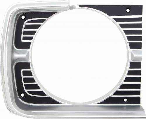 1968 dodge dart headlight bezel (RH)