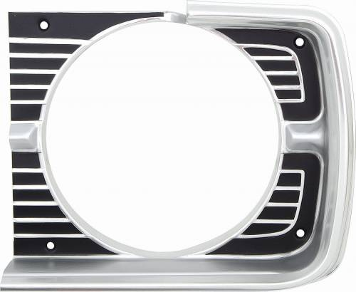 1968 dodge dart headlight bezel