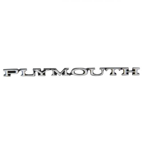 """Plymouth"" Hood Emblem"