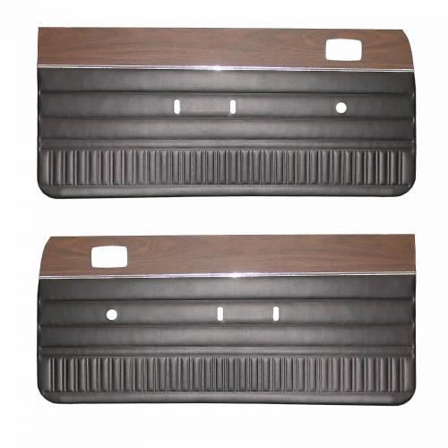 1974 Dart/Duster Door Panels with woodgrain