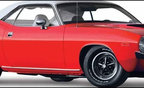 1973-1974 Plymouth Baracuda rocker moldings