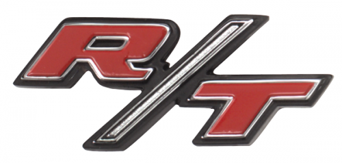 1968 Charger RT tail panel emblem