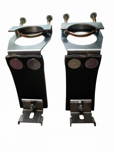 E-body exhaust hangers