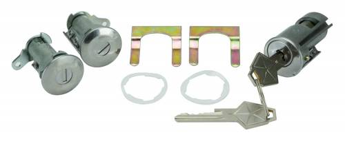 1969 Door & Ignition Lock Set