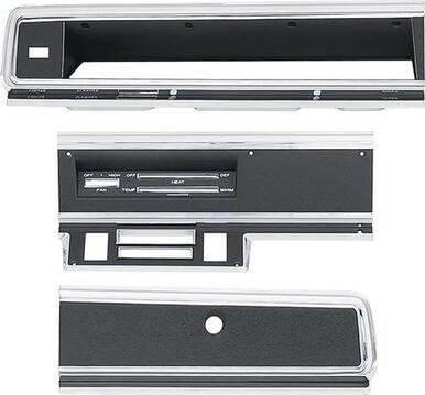 1969 Dart Dash Bezel Kit