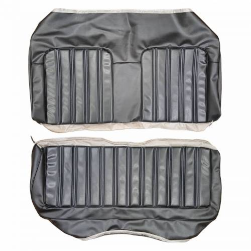"""1973 Charger """"Deluxe"""" rear seat cover"""
