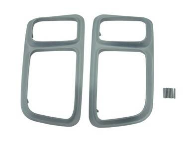 1971 Plymouth Barracuda Tail Light Bezels-Painted