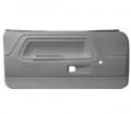 Interior - Door Panels-E-Body - Dante's Mopar Parts - Mopar E-Body Standard Front Door Panels 1970-1974 Dodge Challenger
